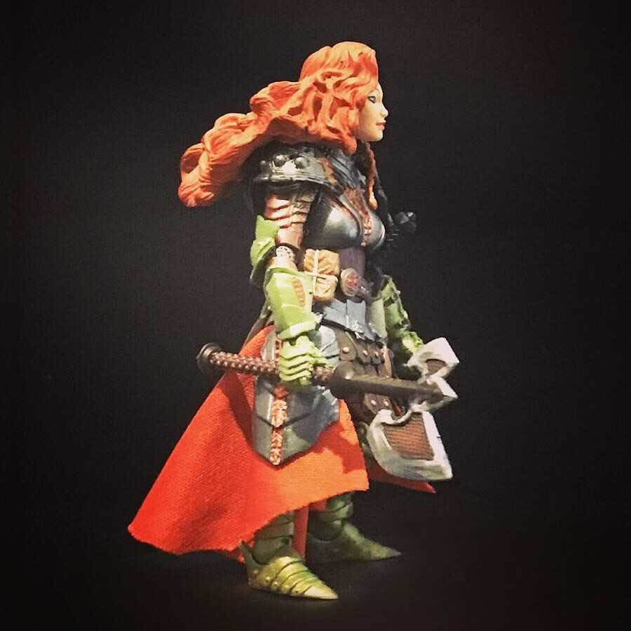 Mythic Legions Female Dwarf custom