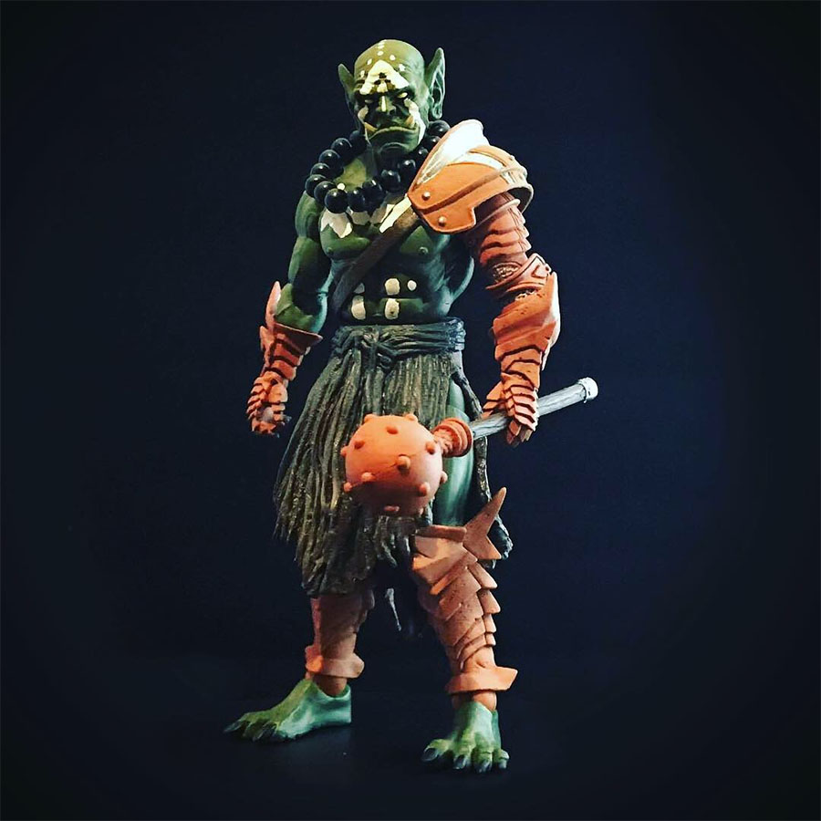 Mythic Legions Orc Monk custom