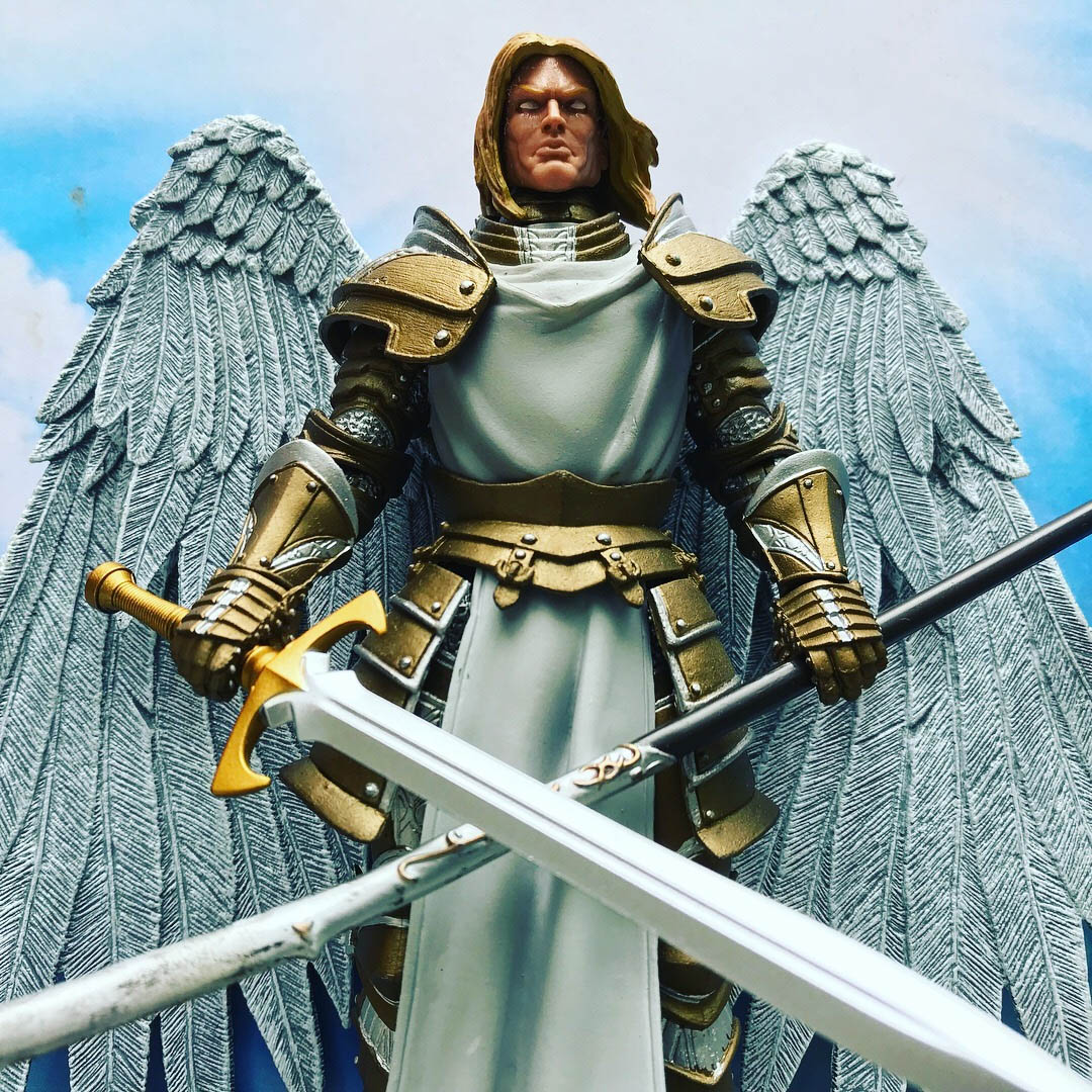 Mythic Legions Angel custom