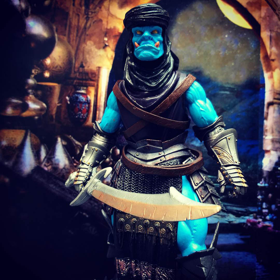 Mythic Legions Azeem the Djinn custom