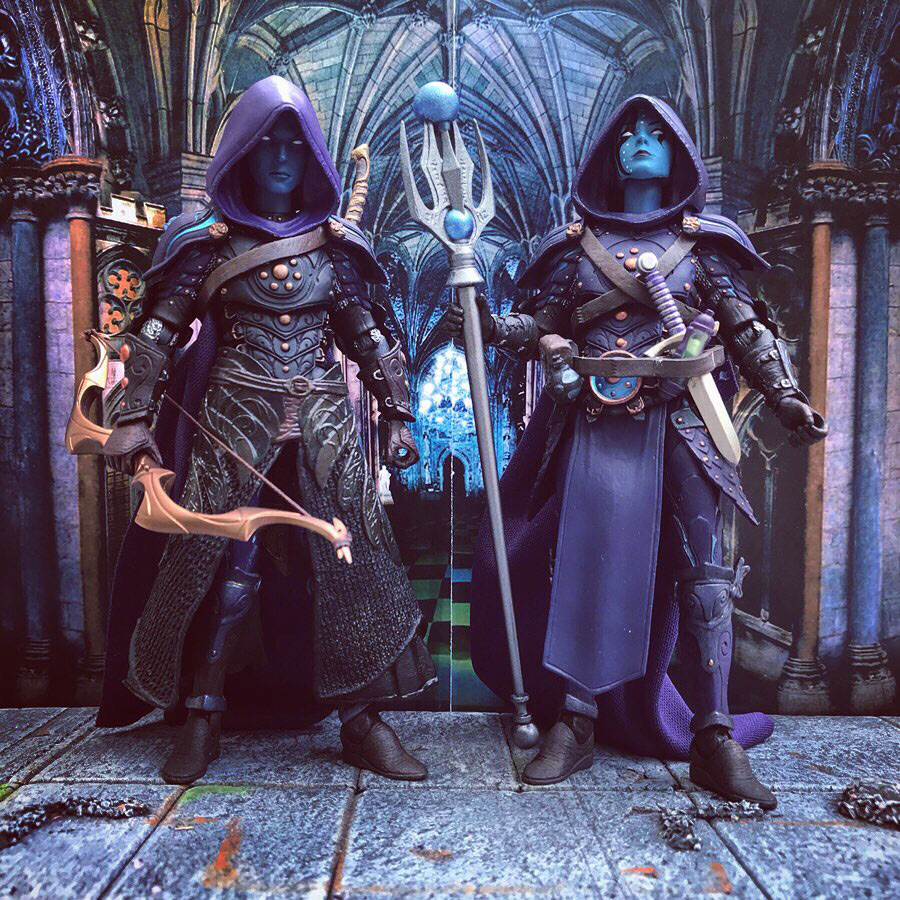 Mythic Legions Shadow Elf mage custom