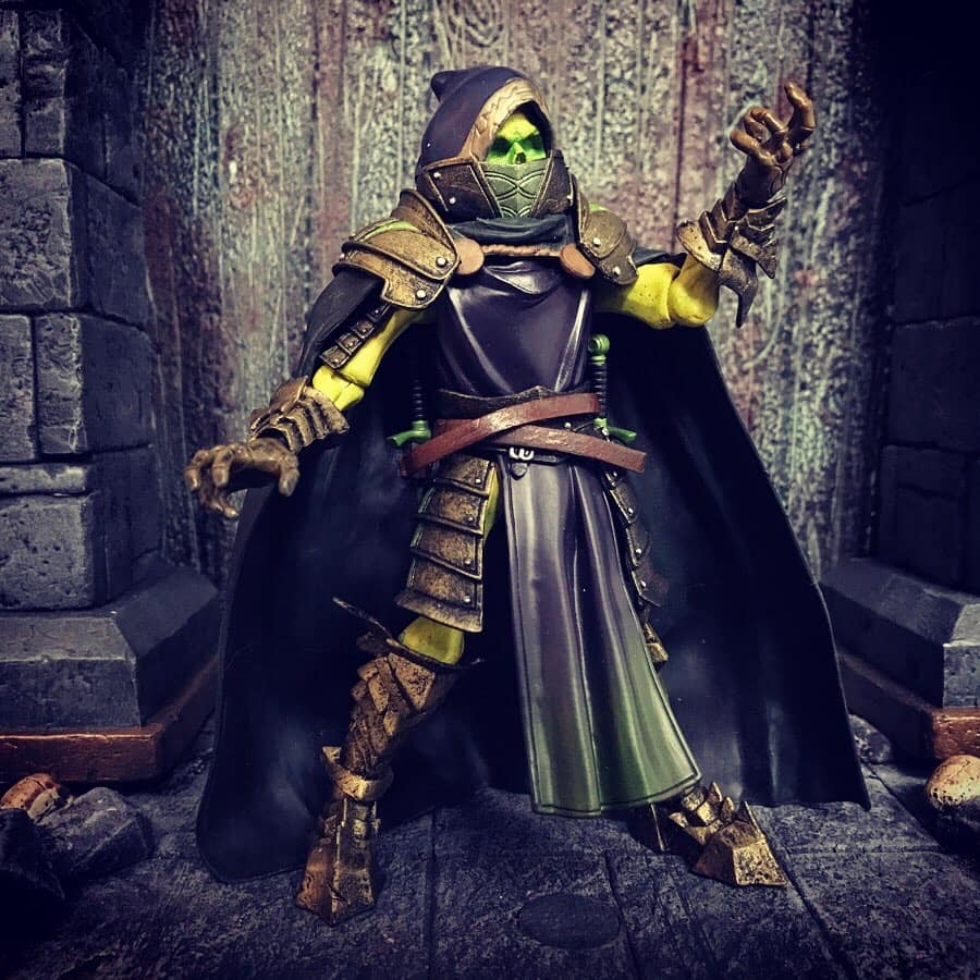 Mythic Legions Ghost of Caramoor custom