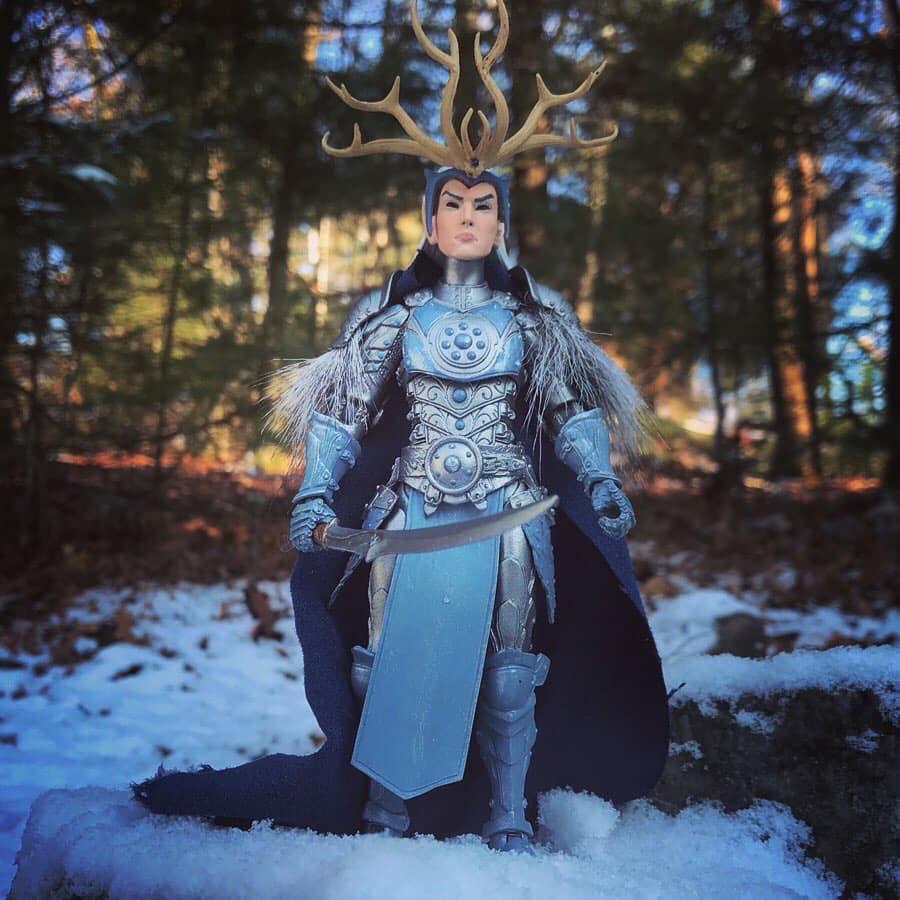 Mythic Legions Frost King custom