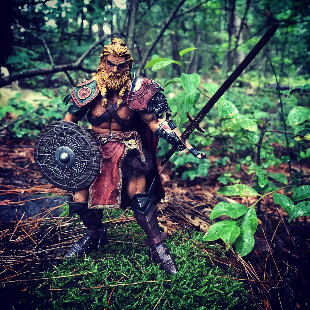 Mythic Legions Clan Leader custom