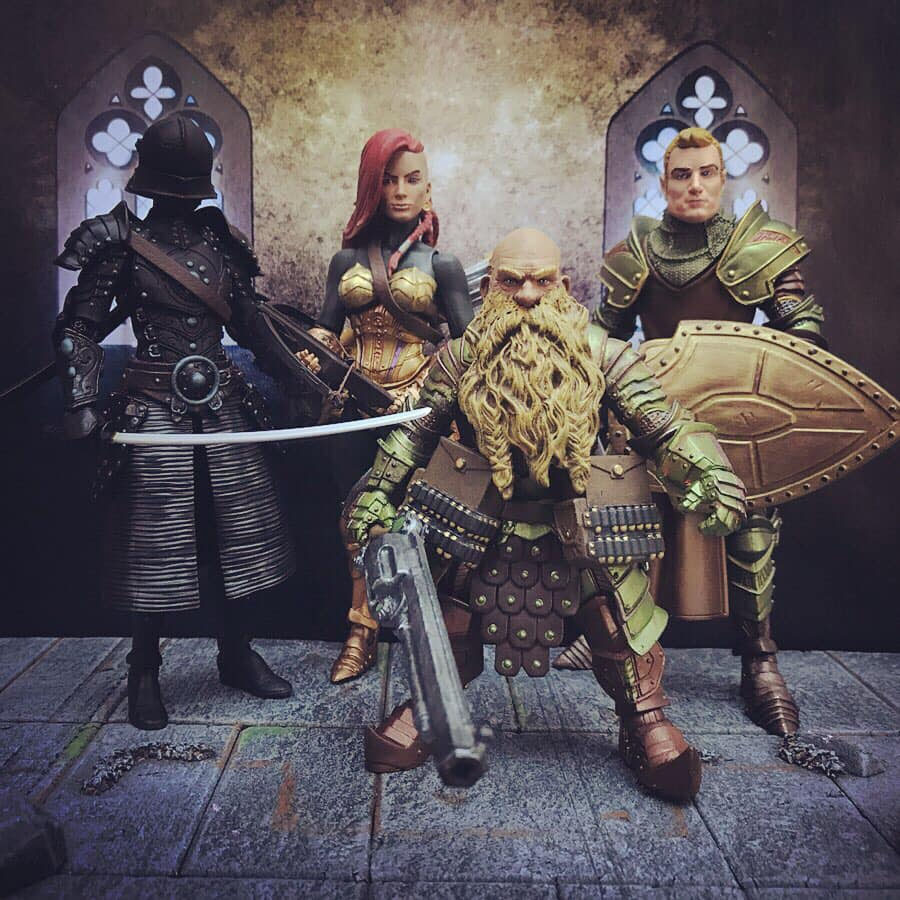 Mythic Legions Cobra customs