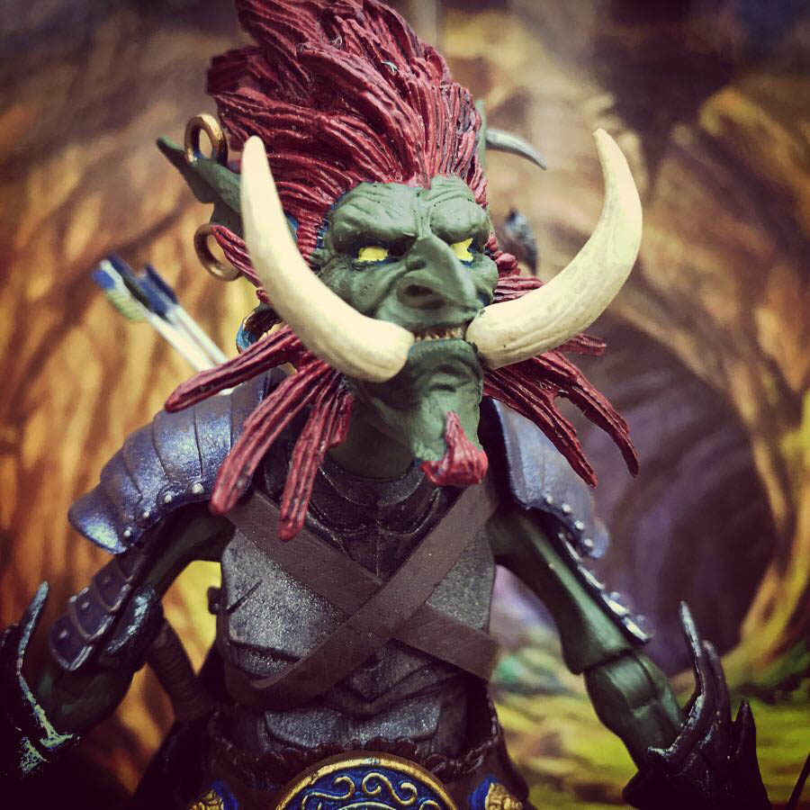 Mythic Legions Jungle Goblin custom