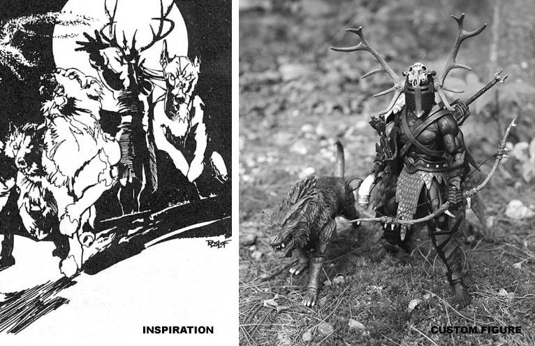 Mythic Legions Figure Customs By Jeremy Girard
