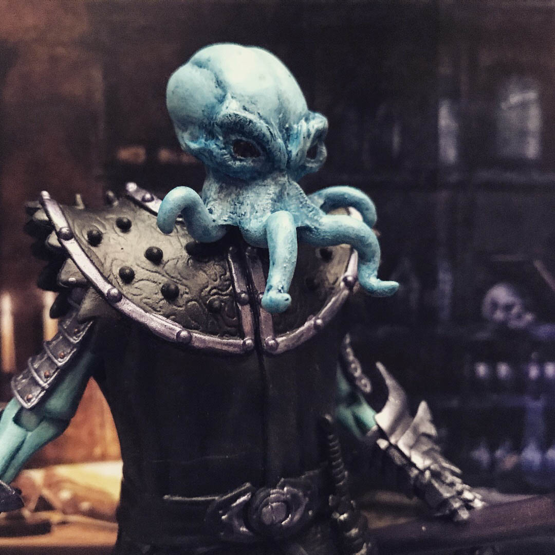 Mythic Legions Mindflayer custom