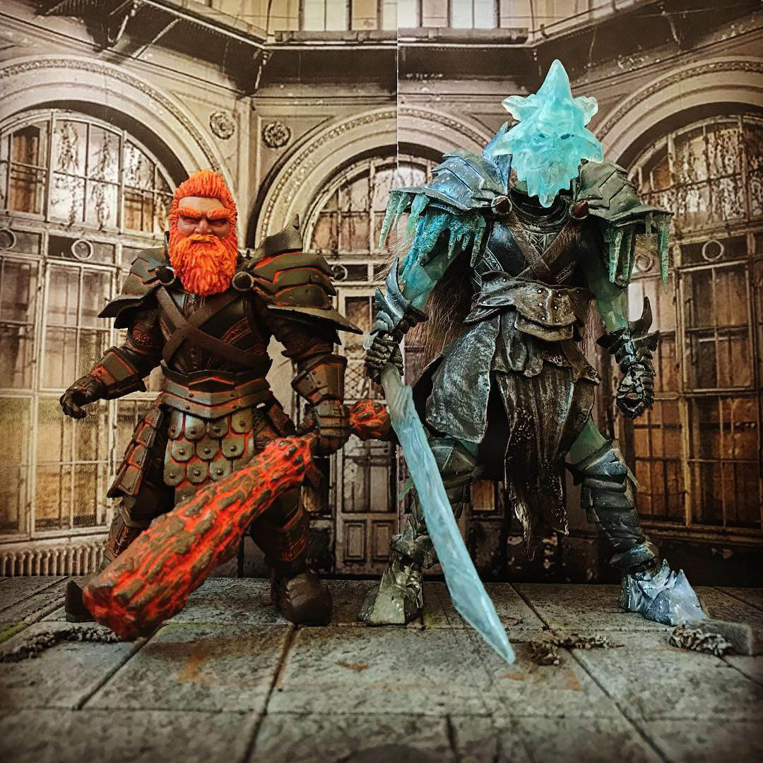 Mythic Legions Miser Brothers custom