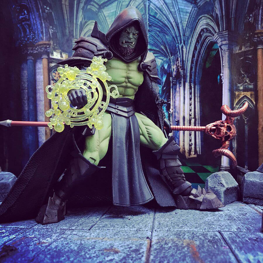 Mythic Legions Orc Mage custom