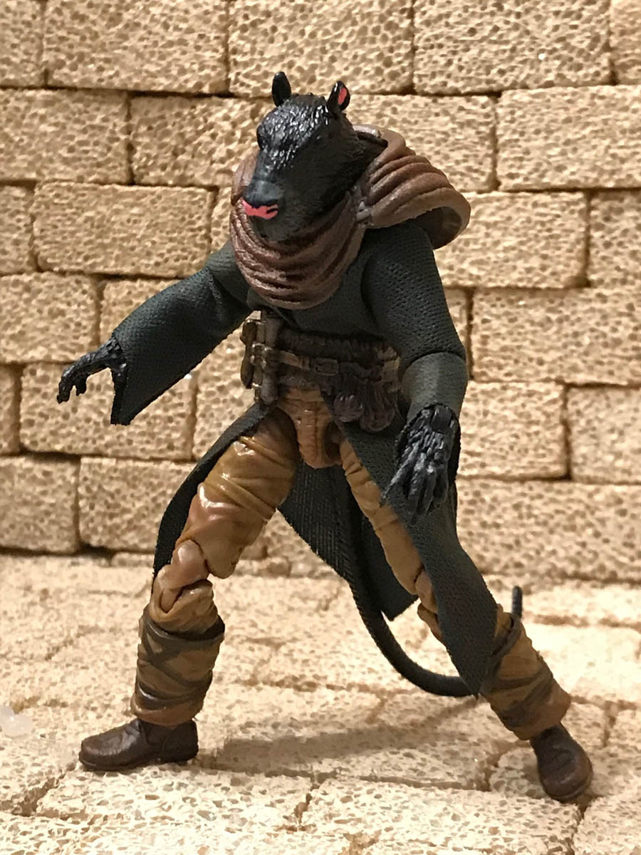 Mythic Legions Skaven rat folk custom