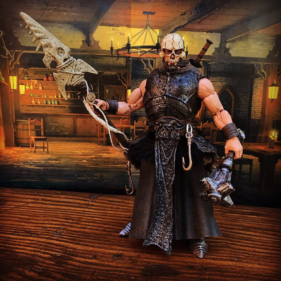 Mythic Legions barbarian pirate custom