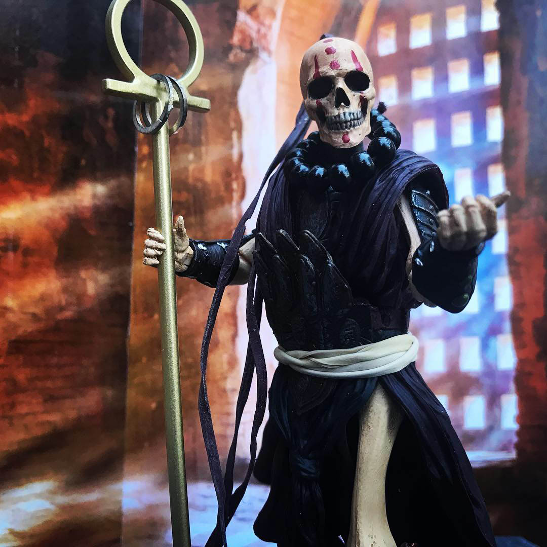 Mythic Legions Skeleton Monk custom