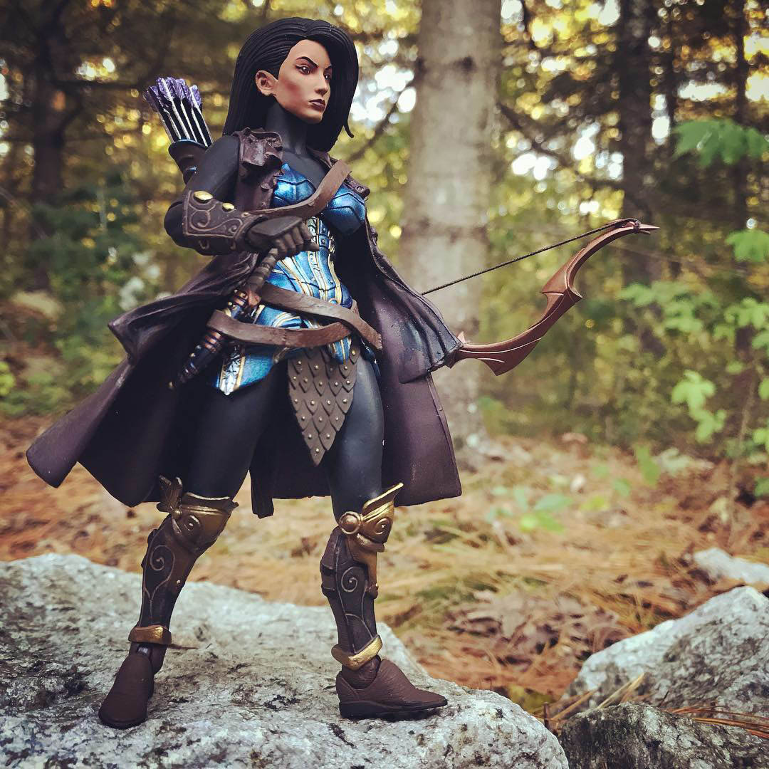 Mythic Legions Snow White custom