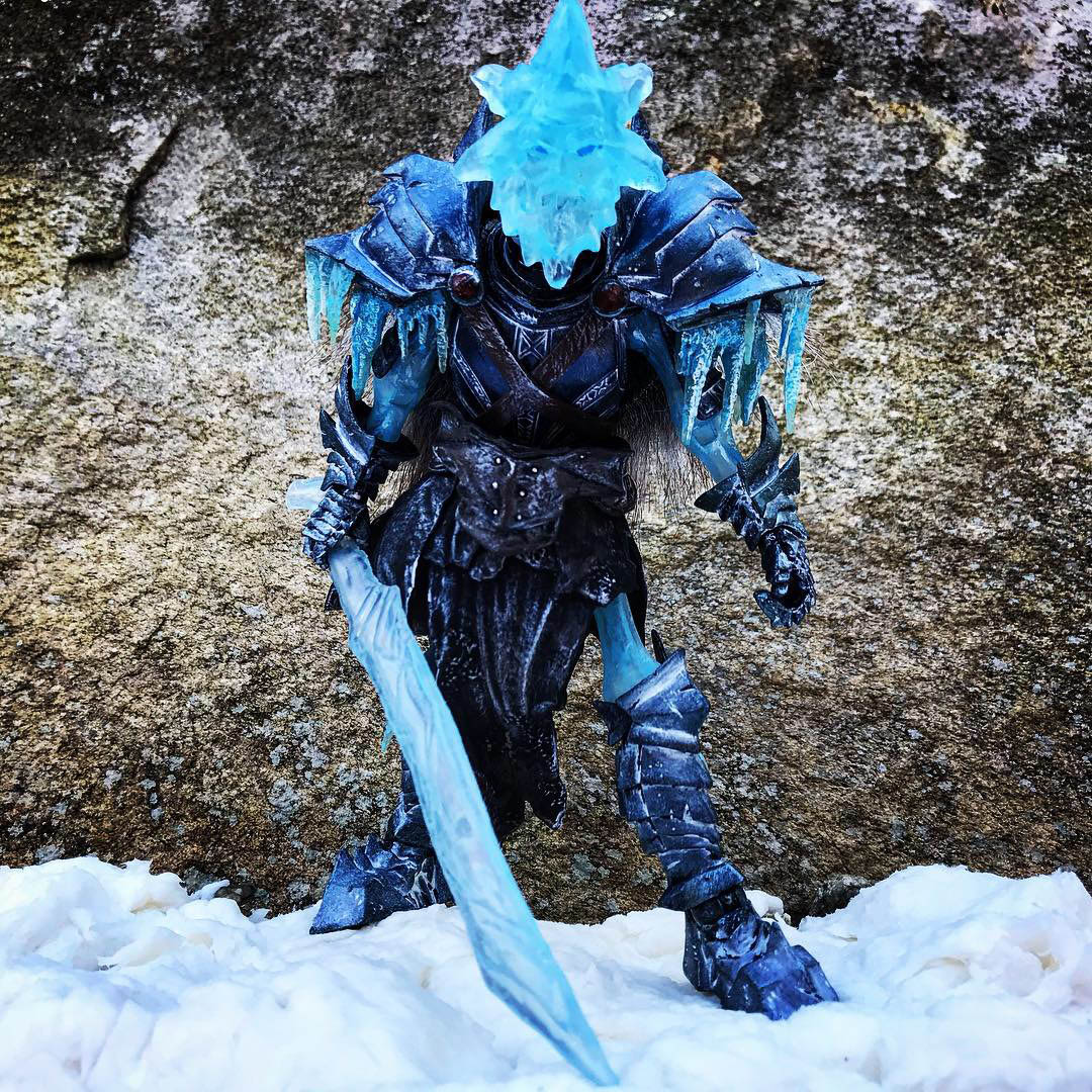Mythic Legions Ice Demon Snow Miser custom