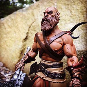 Mythic Legions Barbarian custom