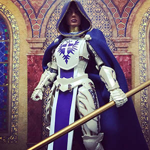 Mythic Legions Cleric custom