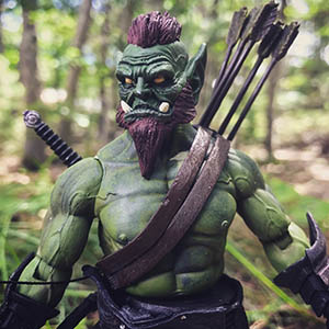 Mythic Legions Orc Archer custom