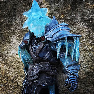 Mythic Legions Snow Miser custom