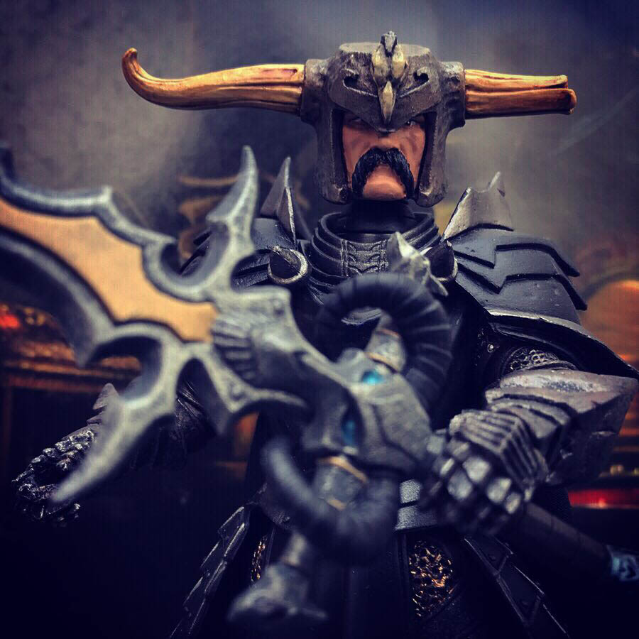 Mythic Legions Wizard custom